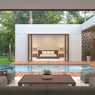 Design the Perfect Backyard Entertainment Around an Incredible Pool