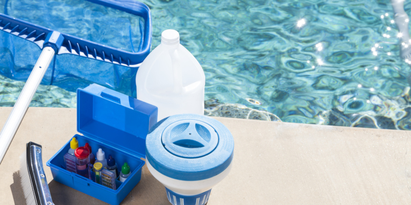 swimming pool equipment to help you keep your pool clean