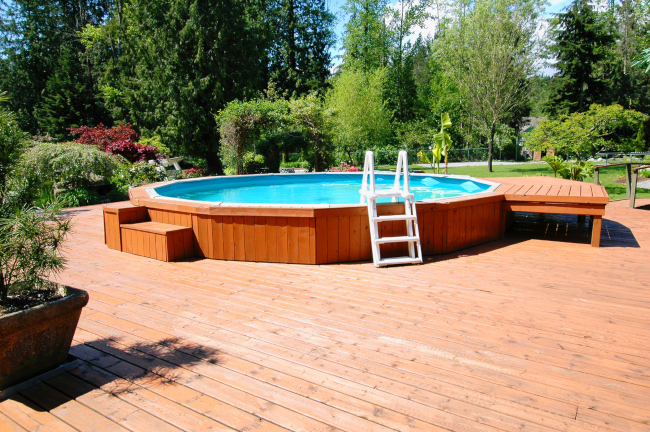 Enjoy Swimming Whenever You Want with Above-Ground Swimming Pools