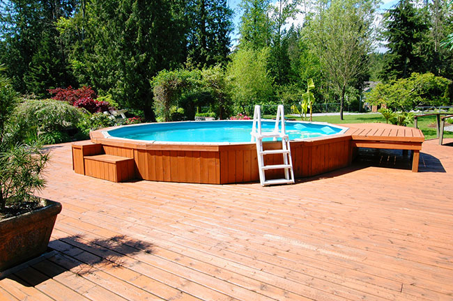 Increasing the Safety of Above-Ground Pools