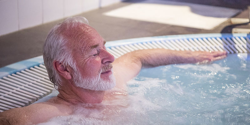 spas help to increase recovery in both people recovering from muscle problems and exercise strain