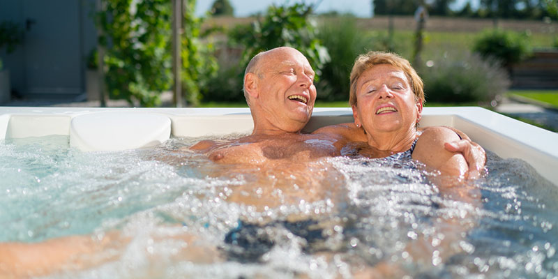 health benefit that hot tubs & spas offer